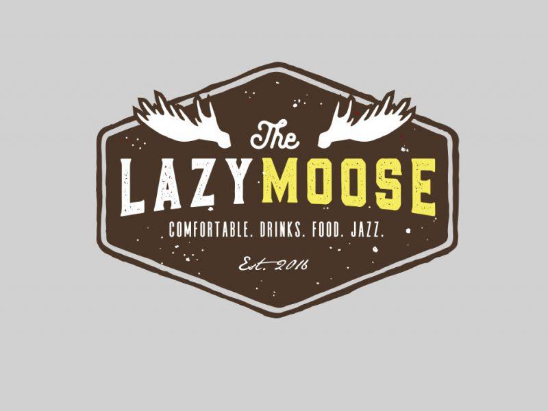 Lazy Moose Logo Design